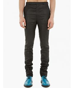 Paul Smith | Metallic Finish Slim-Fit Trousers