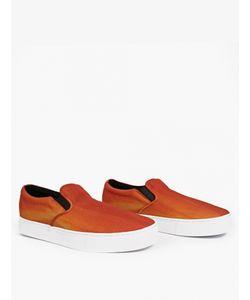 Saturdays Surf Nyc | Orange Vass Canvas Sneakers