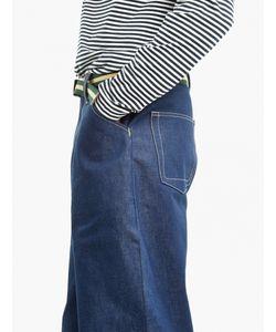 E. Tautz | Indigo Cotton Chore Jeans