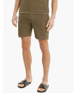 S.N.S. Herning | Olive Cotton Resolution Shorts