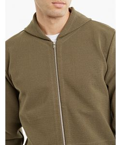 S.N.S. Herning | Olive Woven Cotton Sweatshirt