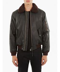 Our Legacy   Coated Cotton Flight Jacket
