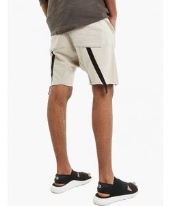 Thom Krom | Stone Drop-Crotch Sweat Shorts