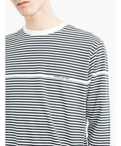 Stone Island | Striped Cotton Marina T-Shirt