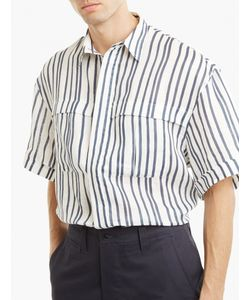 E. Tautz | Striped Linen Derek Shirt