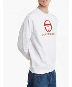 Gosha Rubchinskiy   X Sergio Tacchini Logo Sweatshirt