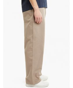 E. Tautz | Stone Cotton Field Trousers