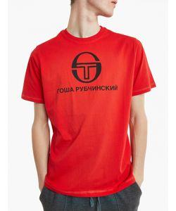 Gosha Rubchinskiy   X Sergio Tacchini Logo T-Shirt