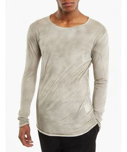 Thom Krom | Stone Long-Sleeved Panel T-Shirt
