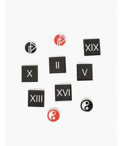 Gosha Rubchinskiy   10 X Badge Set
