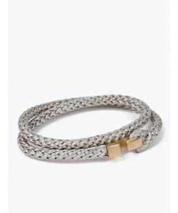 Miansai | Braided Bracelet With Matte Clasp