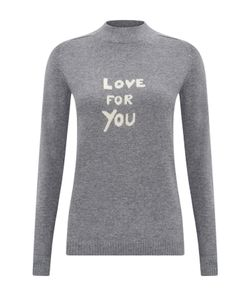 Bella Freud   Love For You Cashmere Turtle Neck