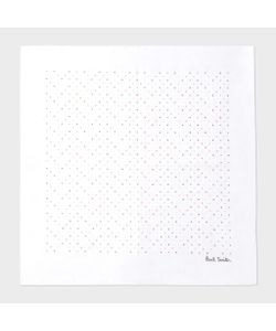 Paul Smith | Mens Artist Stripe Dot Print Pocket Square
