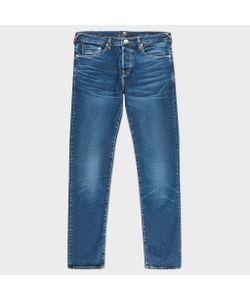 Paul Smith   Slim-Standard Dark-Wash Organic-Cotton Stretch Jeans