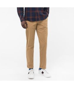 Paul Smith | Mens Tape-Fit Garment-Dye Pima-Cotton Stretch Chinos