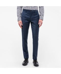 Paul Smith | Mid-Fit Wool Check Trousers