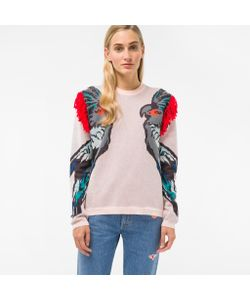 Paul Smith | Cockatoo Intarsia Sweater With Shoulder Detail