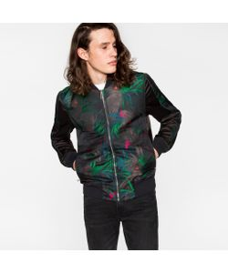 Paul Smith | Cockatoo Jacquard Bomber Jacket