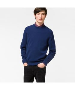 Paul Smith   Cotton-Blend Textured-Knit Sweater