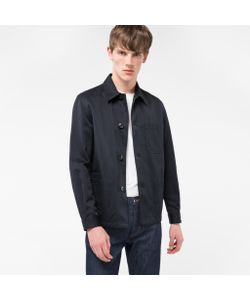 Paul Smith | Mens Cotton And Linen-Blend Chore Jacket