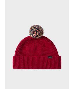 367d78facca Paul Smith - Pom-Pom Wool Beanie Hat