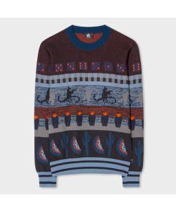 Paul Smith | Mixed-Motif Jacquard Sweater