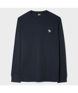 Paul Smith | Organic Zebra Logo Long-Sleeve T-Shirt
