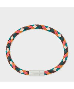 Paul Smith | Mens Ed Leather Plaited Bracelet
