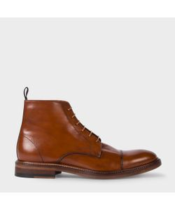 Paul Smith | Mens Dip-Dyed Calf Leather Jarman Boots