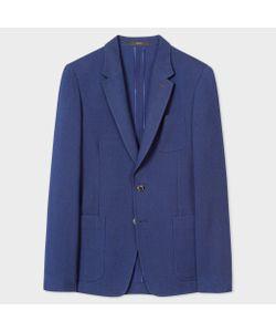 Paul Smith   Tailored-Fit Textured Diamond-Pattern Blazer