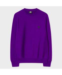 Paul Smith | Embroidered Ps Logo Organic Sweatshirt