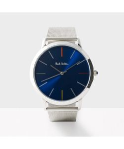 Paul Smith   Mens Navy And Silver Ma Watch