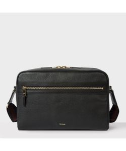 Paul Smith | Mens Leather City Webbing Cross-Body Bag