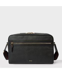 Paul Smith | Mens Leather City Webbing Cross-Body Bag