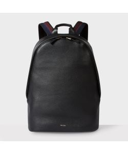 Paul Smith | Mens Leather City Webbing Backpack