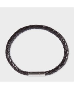 Paul Smith | Mens Leather Plaited Bracelet
