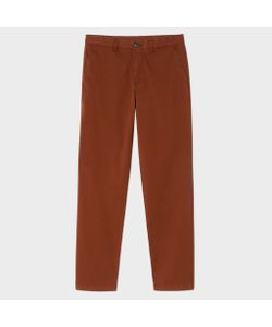 Paul Smith | Mens Tape-Fit Garment-Dyed Pima-Cotton Stretch Chinos