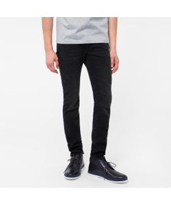 Paul Smith | Mens Slim-Fit Washed Stretch-Denim Jeans
