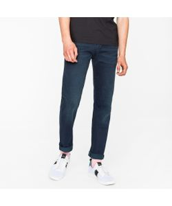 Paul Smith | Tapered-Fit 11.8oz Over-Dyed Wash Super Soft Cross-Hatch Stretch-Denim Jeans