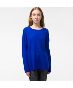 Paul Smith | Womens Button-Back Merino Wool Sweater