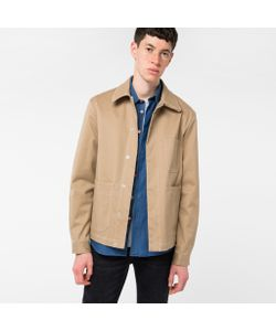 Paul Smith | Mens Cotton-Twill Stretch Chore Jacket