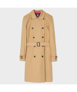 Paul Smith | Twill Trench Coat With Contrasts