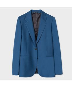 Paul Smith | A Suit To Travel In Womens Blue Two-Button Wool