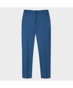 Paul Smith | A Suit To Travel In Womens Blue Wool-Twill Trousers