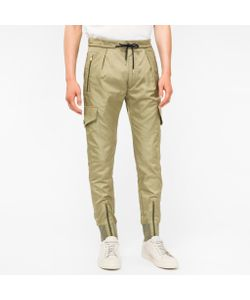 Paul Smith | Mens Multi-Pocket Cotton And Cupro-Blend Trousers