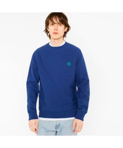Paul Smith | Embroidered Ps Logo Organic Sweatshirt