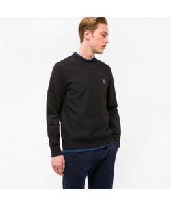 Paul Smith | Embroide Ps Logo Organic-Cotton Sweatshirt