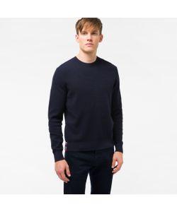 Paul Smith   Mens Cotton-Blend Textu-Knit Sweater