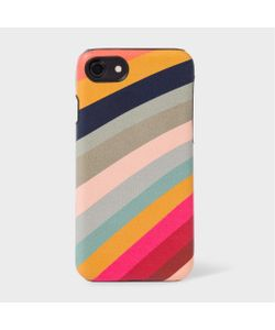Paul Smith | Swirl Print Leather Iphone 7 Case