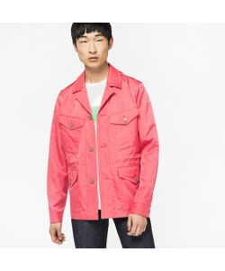 Paul Smith | Four Pocket Cotton And Cupro-Blend Field Jacket